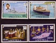 1977 Anguilla Royal Silver Jubilee Set Fine Mint