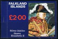 1977 Falkland Islands Royal Silver Jubilee Booklet Fine Mint
