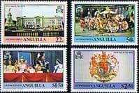 1978 Anguilla Coronation 25th Anniversary Set Fine Mint
