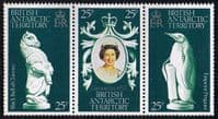 1978 British Antarctic Territory Coronation 25th Anniversary Set Fine Mint