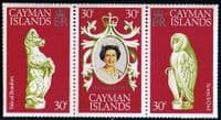 1978 Cayman Islands Coronation 25th Anniversary Set Fine Mint