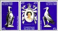 1978 Christmas Islands Coronation 25th Anniversary Set Fine Mint