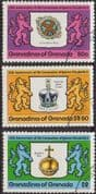 1978 Grenada Grenadines Coronation 25th Anniversary Set Perf 14 Fine Used