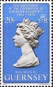 1978 Guernsey Coronation 25th Anniversary Fine Mint