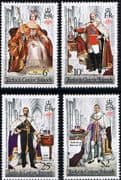 1978 Turks & Caicos Islands Coronation 25th Anniversary Set Perf 14 Fine Mint