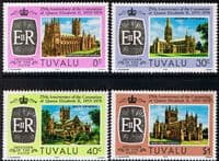 1978 Tuvalu Coronation 25th Anniversary Set Fine Mint