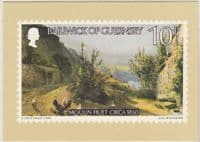 1980 Guernsey Christmas First Day PHQ Stamp Card SG 222