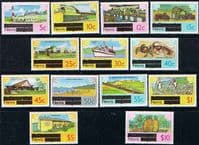 1980 Nevis Set Complete to $10 Fine Mint
