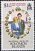 1982 Solomon Islands Charles and Diana Royal Wedding Cyclone Relief Fine Mint