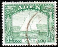 Aden 1937 SG 1 Dhow Fine Used