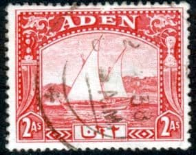 Aden 1937 SG 4 Dhow Fine Used