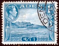 Aden 1939 SG 18 The Harbour Fine Used