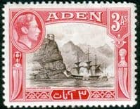 Aden 1939 SG 22 Capture of Aden 1839 Fine Mint