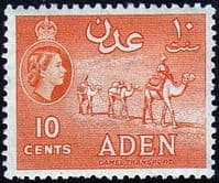 Aden 1953 SG 50 Camel Transport Fine Mint