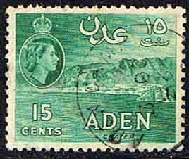 Aden 1953 SG 52 Crater Fine Used