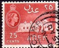 Aden 1953 SG 54 Mousque Fine Used