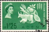 Aden 1963 Freedom From Hunger Fine Used