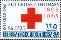 Aden 1963 Red Cross SG 148 Fine Mint