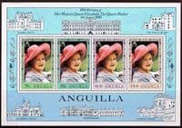 Anguilla 1980 Mothers Queen 80th Birthday Miniature Sheet Fine Mint