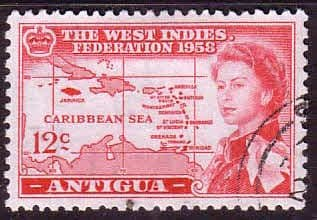 Stamps Antigua 1953 SG 134 Fort James Fine Mint Scott 121