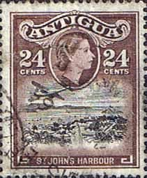 Antigua 1963 SG 158a St Johns Harbour Fine Used