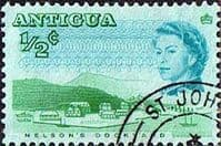 Antigua 1966 SG 180 Nelsons Dock Yard Fine Used