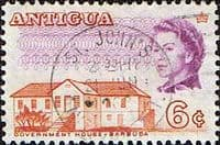 Antigua 1966 SG 186 Government House Fine Used