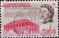 Antigua 1966 SG 190 Clarence House Fine Used
