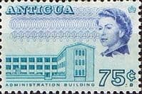 Antigua 1966 SG 192 Administration Building Fine Mint