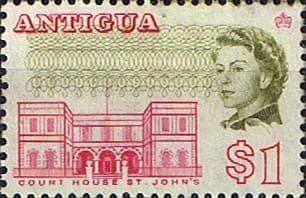 Stamps of Antigua 1966