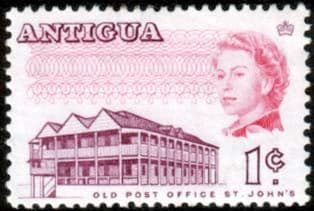 Antigua 1969 SG 234B Old Post Office Fine Mint