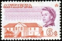 Antigua 1969 SG 240A Government House Fine Mint