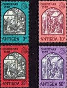 Antigua 1970 Christmas Set Fine Mint