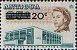 Antigua 1970 General Post Office SG 256 Surcharged Fine Mint