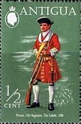 Antigua 1971 Military Uniforms SG 303 Fine Mint