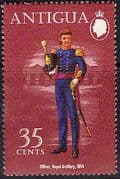 Antigua 1972 Military Uniforms SG 316 Fine Mint