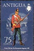 Antigua 1972 Military Uniforms SG 317 Fine Mint