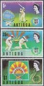 Antigua 1972 Rising Sun Cricket Club Set Fine Mint