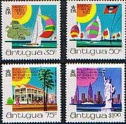 Antigua 1972 Sailing Week Set Fine Mint