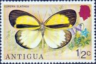 Antigua 1975 Butterflies SG 449 Fine Mint