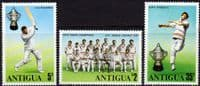 Antigua 1975  World Cricket Cup Winners Set Fine Mint