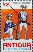 Antigua 1976 Bicentenary of American Revolution SG 487 Fine Mint