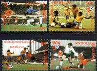 Antigua 1982 World Cup Set Fine Mint