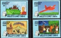 Antigua 1986 Appearance of Halley's Comet Set Fine Mint