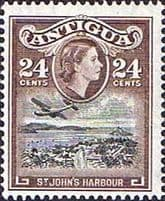 Antigua Queen Elizabeth II 1953 - 1969