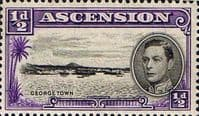 Ascension 1938 George VI SG 38 Fine Mint