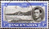 Ascension 1938 George VI SG 42 Fine Used