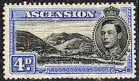 Ascension 1938 George VI SG 42c Fine Mint