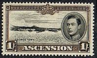 Ascension 1938 George VI SG 44 Fine Mint