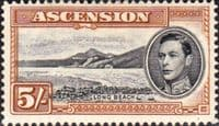 Ascension 1938 George VI SG 46 Fine Mint
